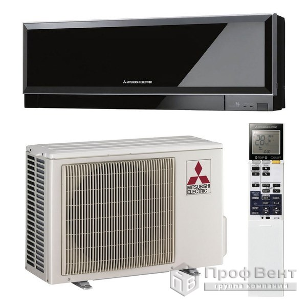 Настенный кондиционер Mitsubishi Electric MSZ-EF25VE / MUZ-EF25VE Black